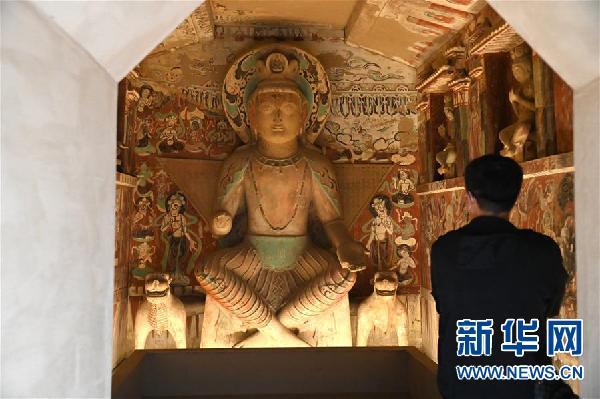 (图文互动)(1)中国三大石窟在河南洛阳首次联袂开展
