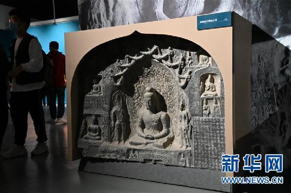 (图文互动)(4)中国三大石窟在河南洛阳首次联袂开展