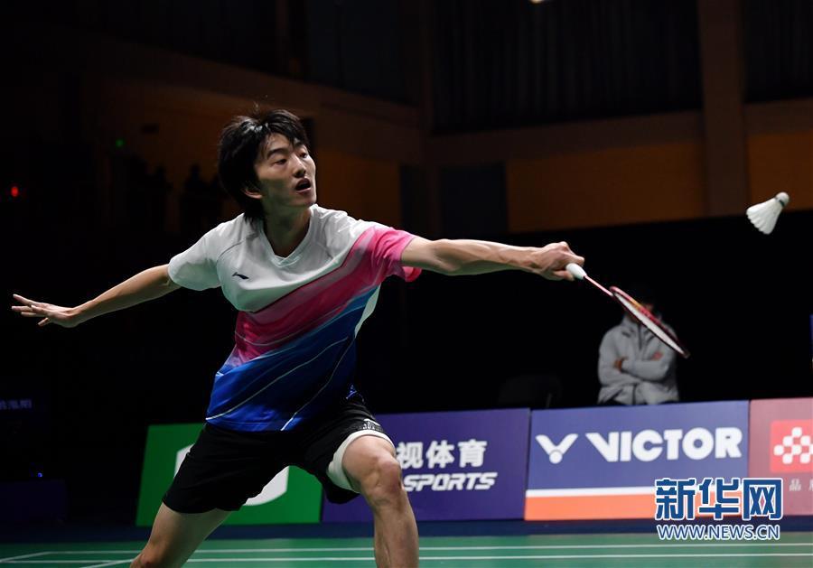 (体育)(3)羽毛球——全国锦标赛决赛:顾俊峰获男单亚军
