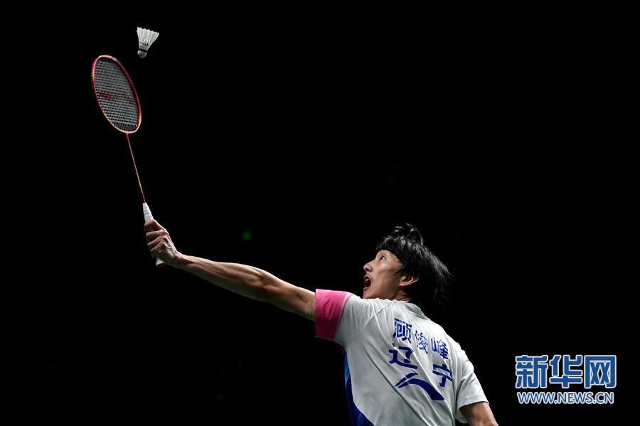 (体育)(1)羽毛球——全国锦标赛决赛:顾俊峰获男单亚军