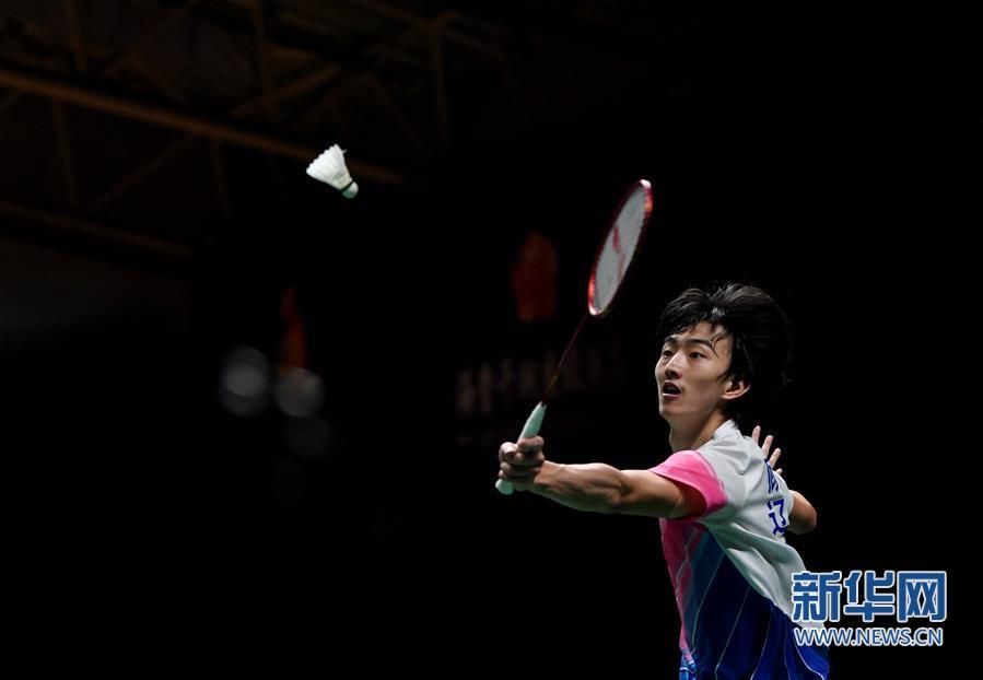 (体育)(2)羽毛球——全国锦标赛决赛:顾俊峰获男单亚军