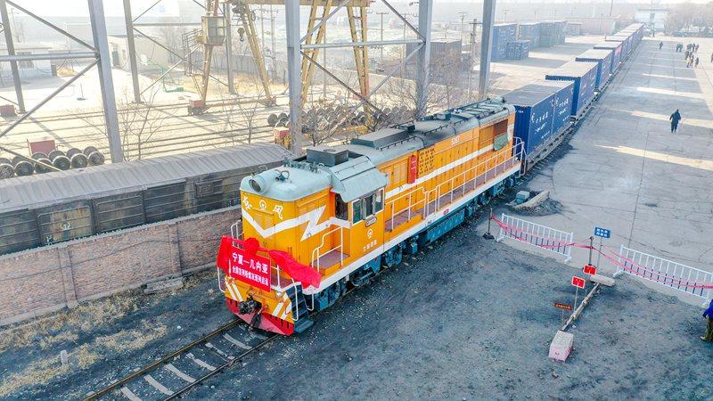 全国首列粉煤灰多式联运出口班列正式发运【2】