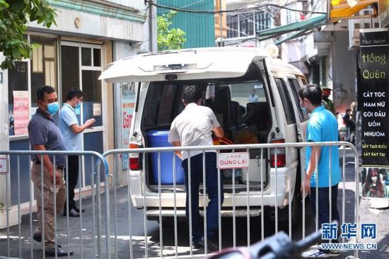 (国际疫情)(3)越南首都河内等地再现本土新冠确诊病例