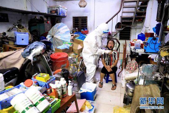 (国际疫情)(4)越南首都河内等地再现本土新冠确诊病例