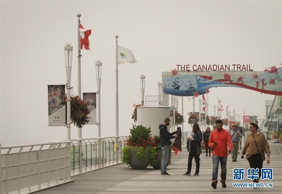 (国际)(1)温哥华空气污染持续