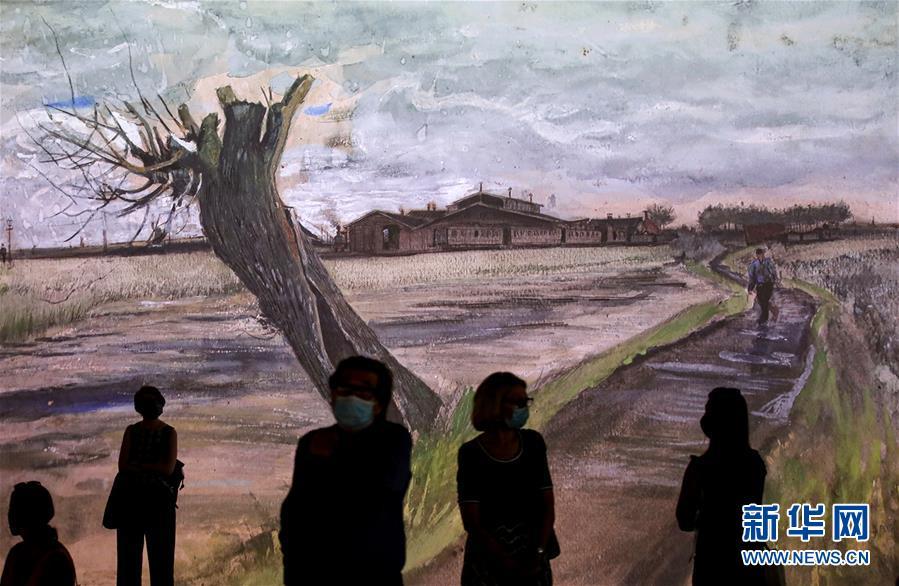(国际)(6)梵高沉浸式画展即将在悉尼开幕