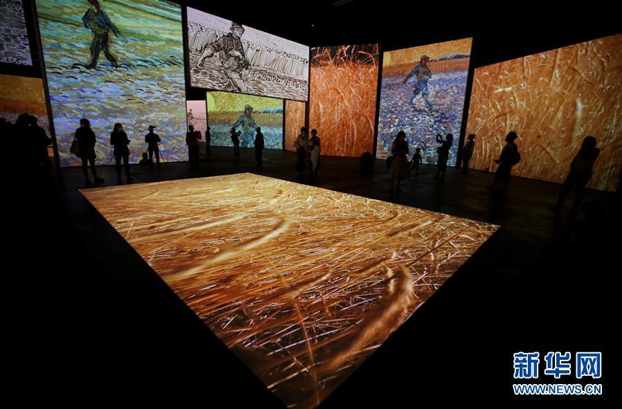 (国际)(5)梵高沉浸式画展即将在悉尼开幕