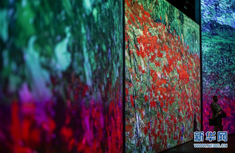 (国际)(3)梵高沉浸式画展即将在悉尼开幕