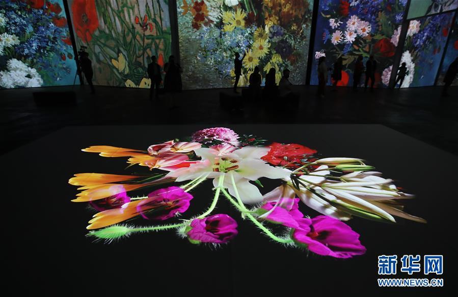 (国际)(2)梵高沉浸式画展即将在悉尼开幕