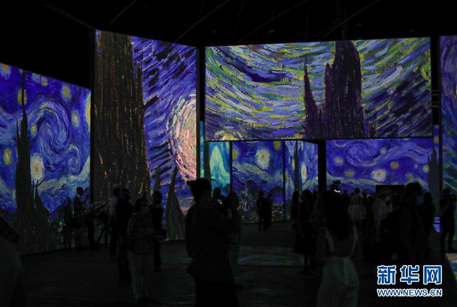 (国际)(4)梵高沉浸式画展即将在悉尼开幕