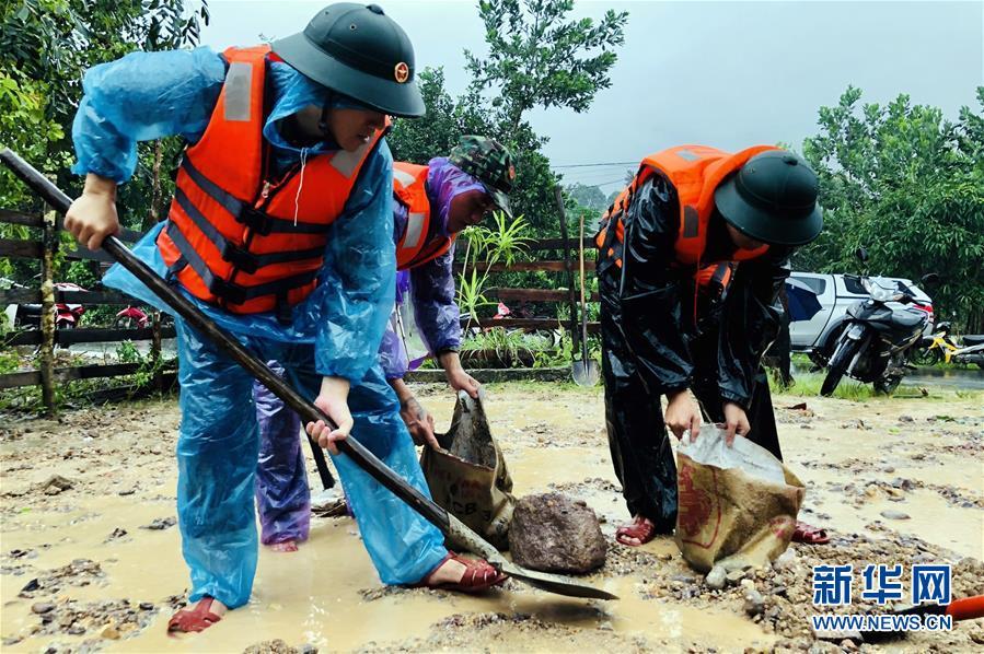 (国际)(3)越南中部等地暴雨已致28人死亡