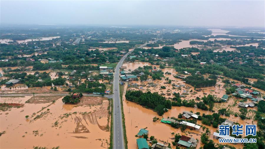 (国际)(4)越南中部等地暴雨已致28人死亡