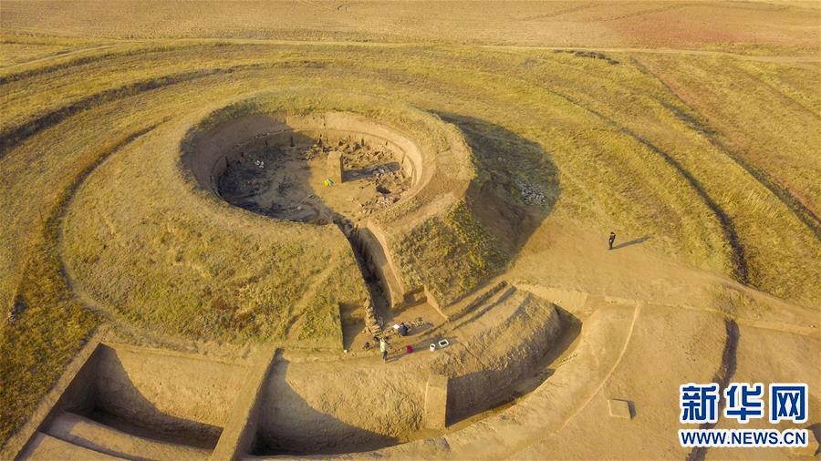 (图文互动)(1)内蒙古发掘1500多年前的北魏皇帝祭天遗址
