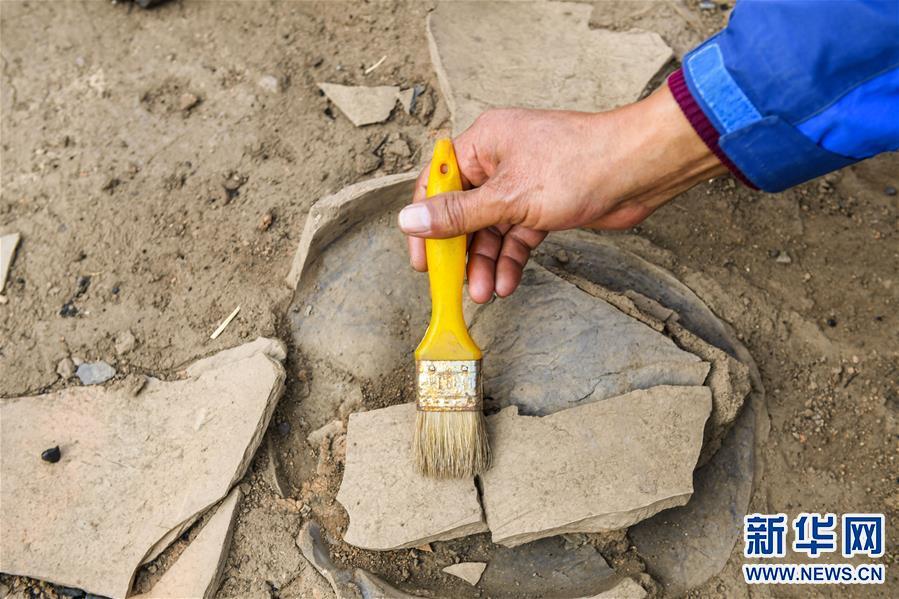 (图文互动)(8)内蒙古发掘1500多年前的北魏皇帝祭天遗址