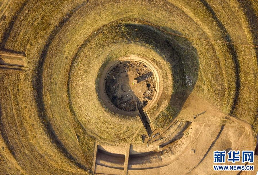 (图文互动)(6)内蒙古发掘1500多年前的北魏皇帝祭天遗址