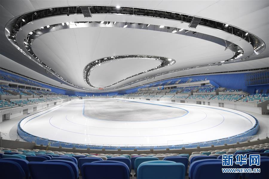 """(体育)(6)国家速滑馆""""冰丝带""""首次制冰取得成功"""